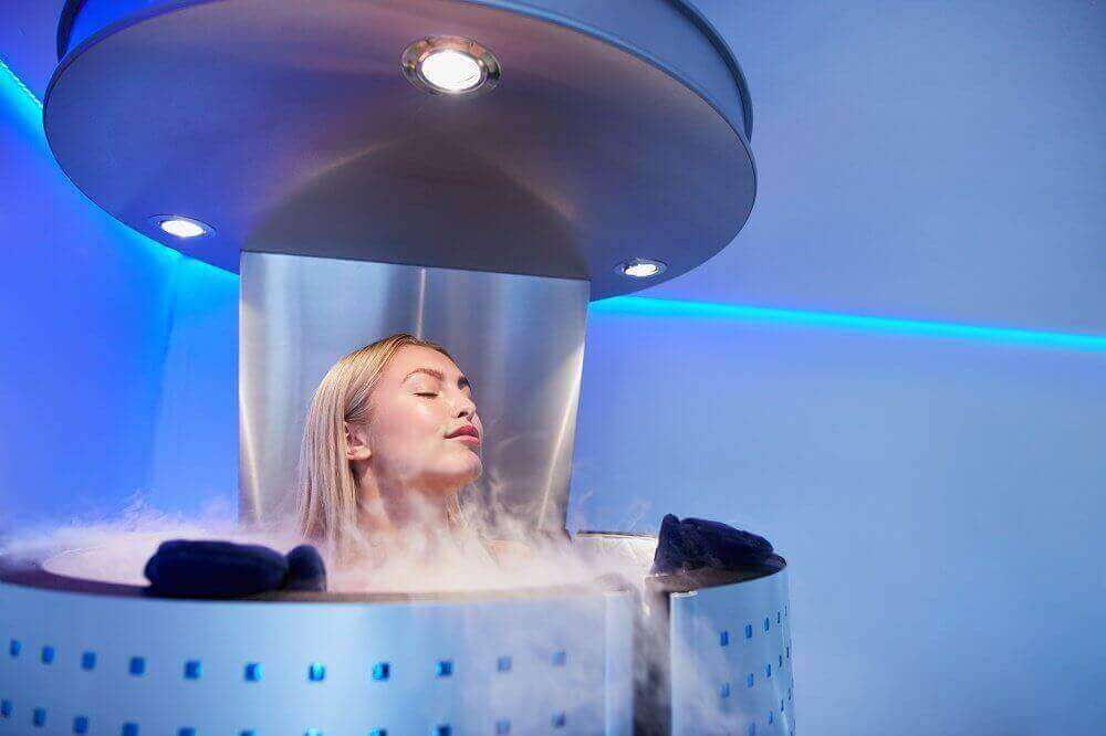 Cryotherapy Treatment Image - Health Culture