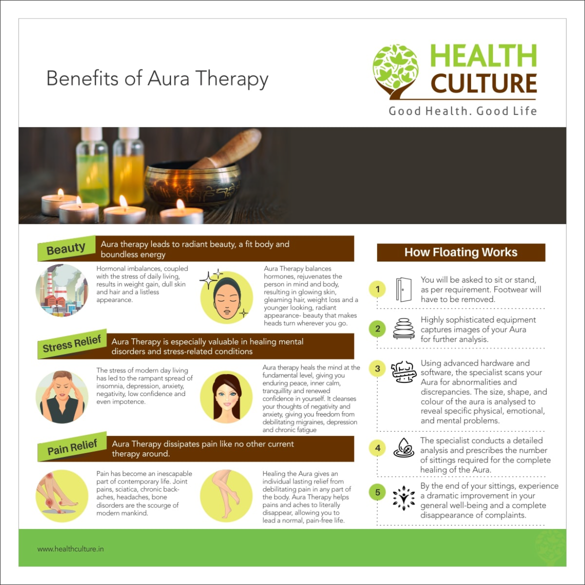 Benefits of Aura Therapy Article - Health Culture