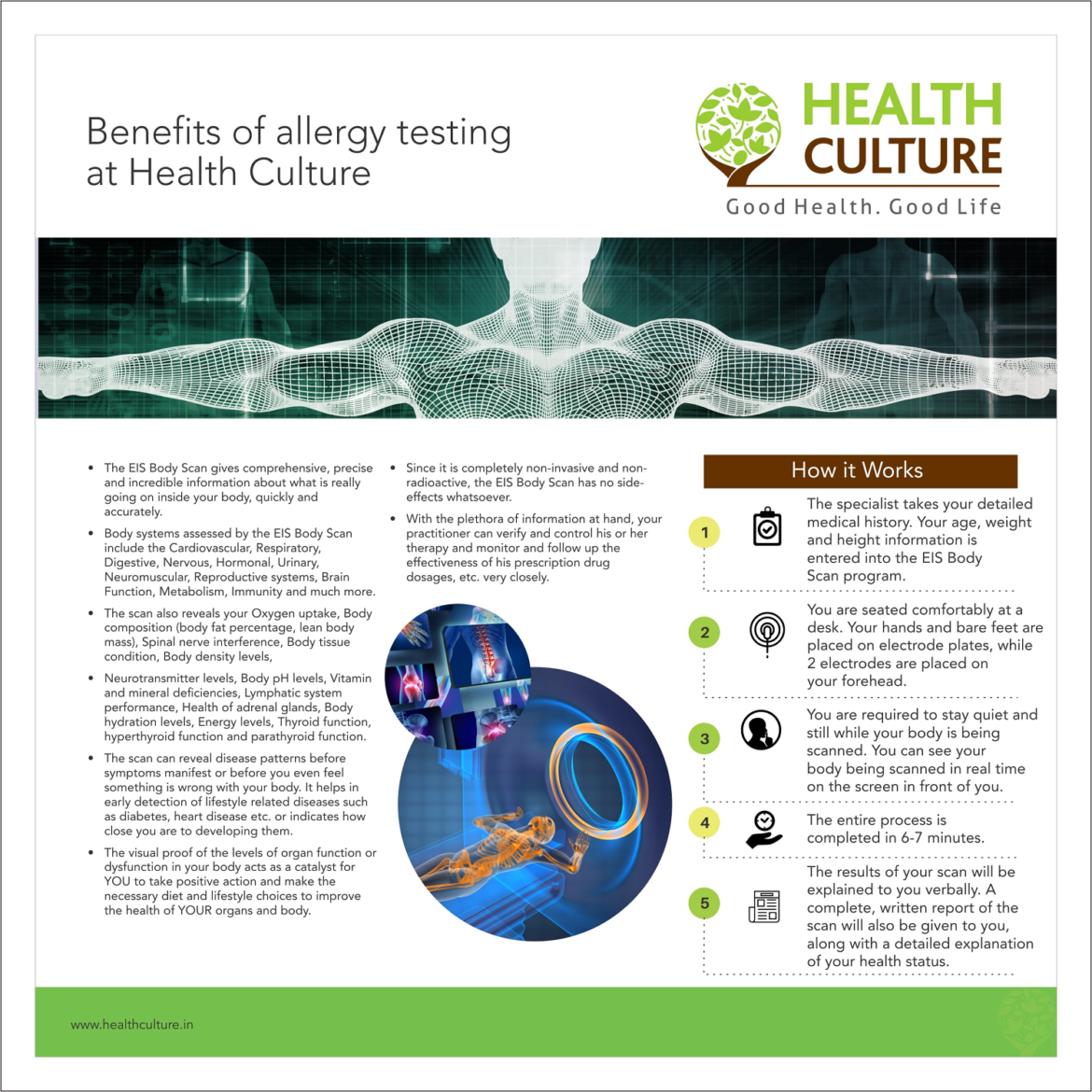 Benefits of allergy testing article - Health Culture