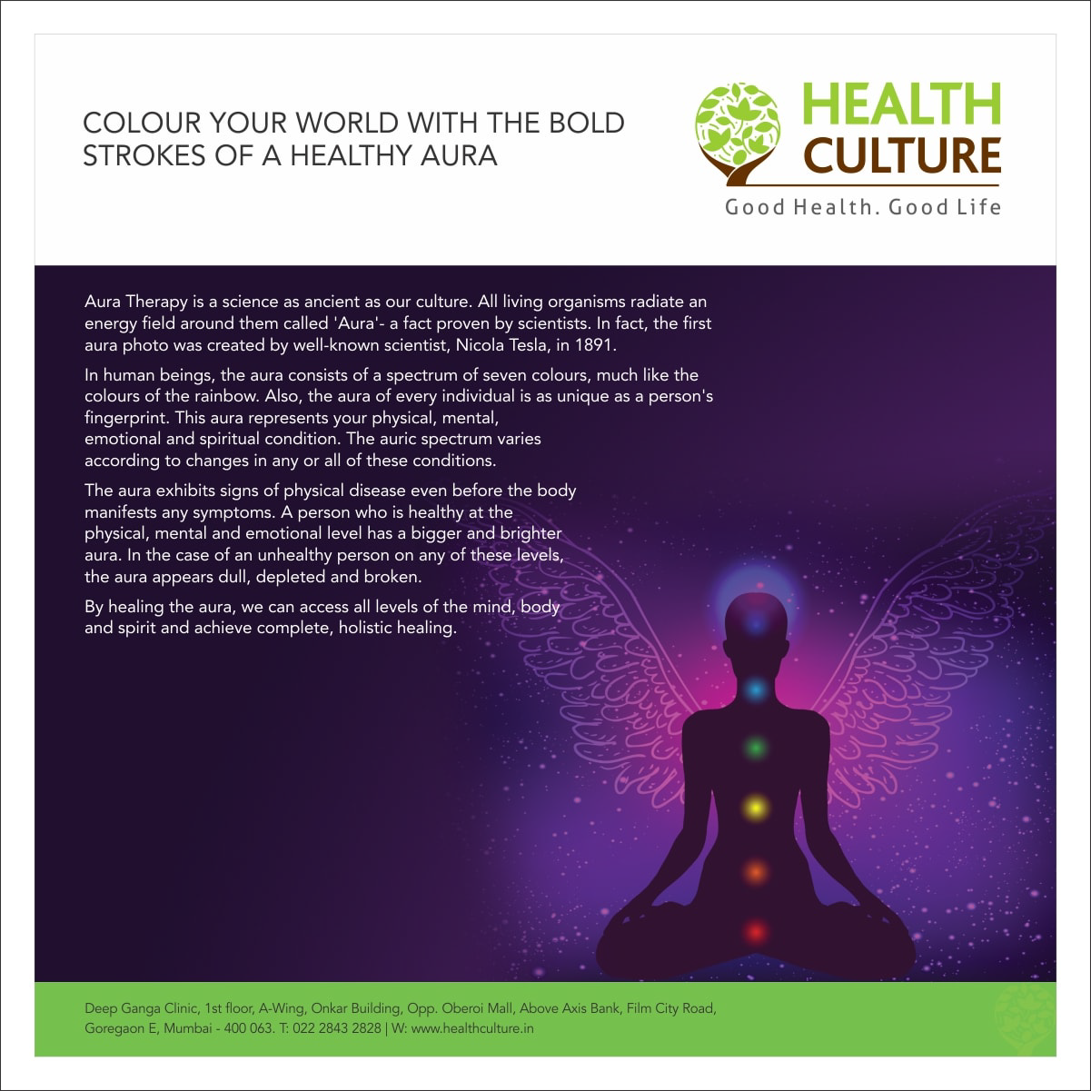 Healthy Aura - Health Culture