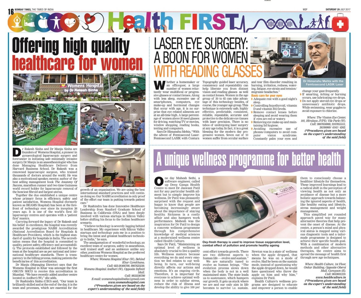 News Article - Health First - Health Culture