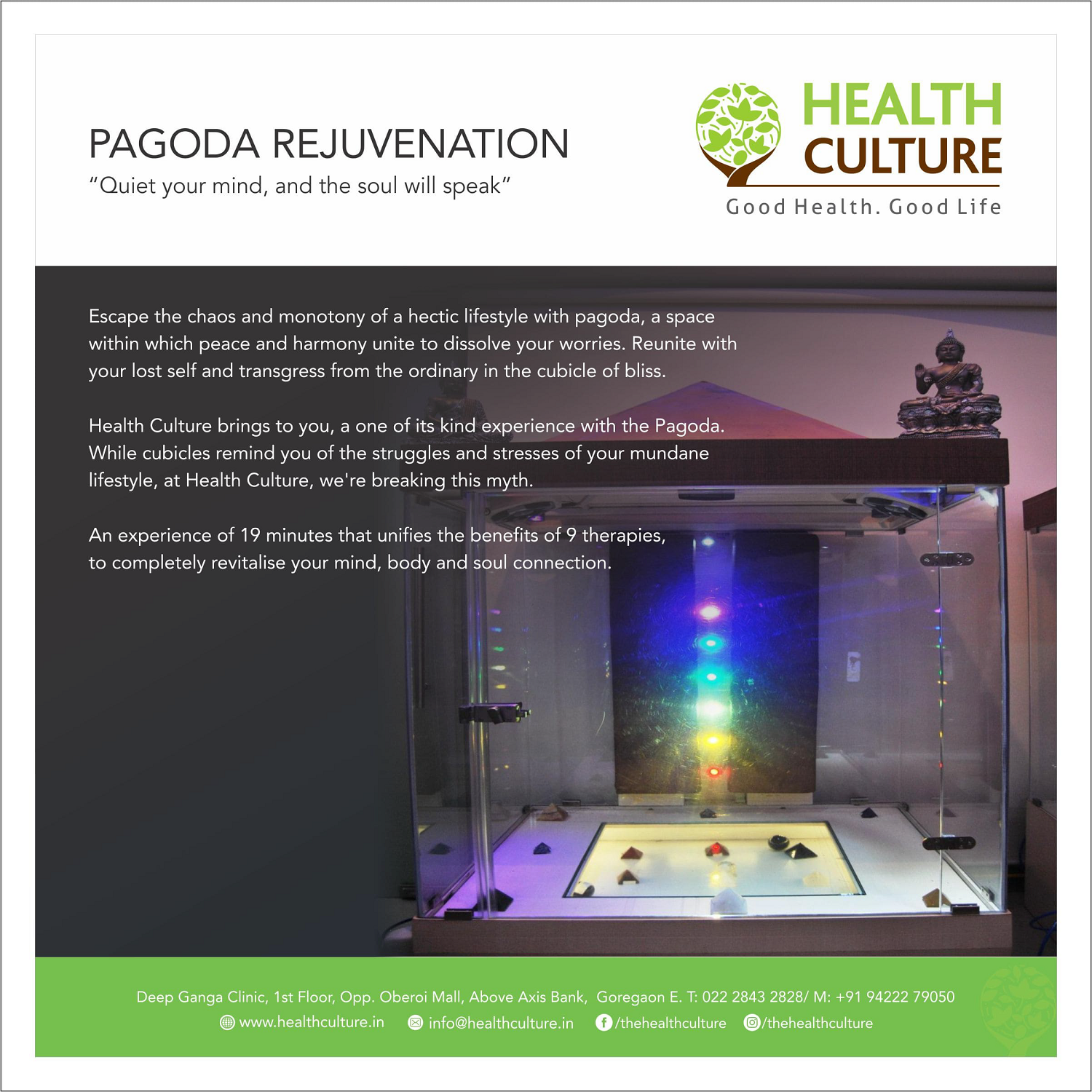 Pagoda Rejuvenation - Health Culture